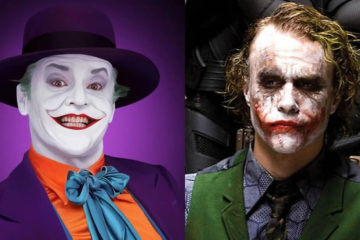 guason jack nicholson y heath ledger
